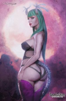 Morrigan Aensland by Naklac