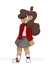 Ivy by drawerchan101drawing