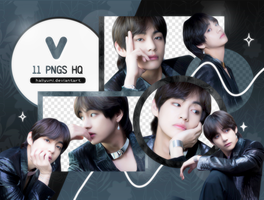 PNG PACK: Taehyung #8 (BBMAs 2018) by Hallyumi