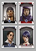 Underground Card Deck - Kings by bob-illustration