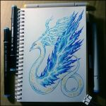 Sketchbook - The Serpent of Air by Candra