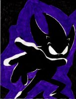 Dark Sonic by Shadow-of-the-Beast