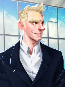 Portrait - Business guy? by Crumbelievable