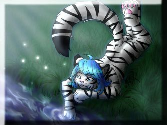 Silverblue light :wallpaper: by Neotheta