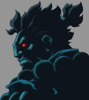 Character Select- Akuma by UdonCrew
