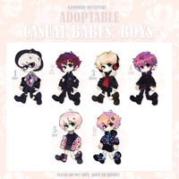 Adoptable: Casual Babes Batch 12 [CLOSED] by amepan