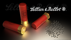 Sellier and Bellot shotgun shell by DeargRuadher