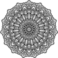 Krita Circles Mandala 8 by WelshPixie
