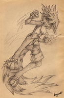 Cryst Sketch by PenguinEXperience