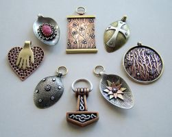 Mixed metal jewelry 5 by Astalo