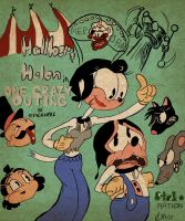 Hallber And Helen In One Crazy Outing Poster by SteLo-Productions95