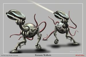 Remote Walkers by Lonesome--Crow