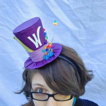 Tiny Top Hat: Willy Wonka by TinyTopHats