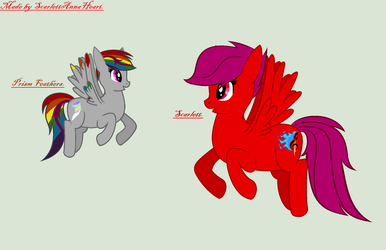 Flying Lessons! by ScarlettAnnaHeart