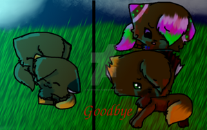 Goodbye Bramblepelt Contest/Gift/thing.. by Fluffeh-Kat