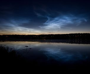 Noctilucent Clouds 2 by JuhaniViitanen