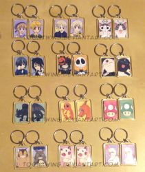 Got Keychains 2 by ToonTwins
