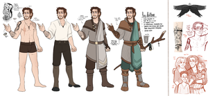 DnD| Roy Hellborn| References| EDIT III by RomyvdHel-Art