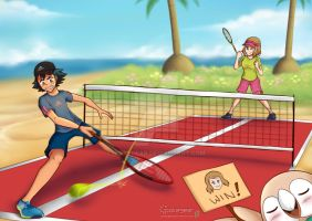 [CM] AmourShip - Playing Tennis in Alola! by ipokegear