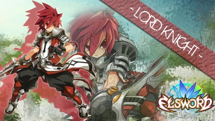 Elsword - Lord Knight by Amakakeryu