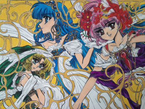 Magic Knight Rayearth by kairi410