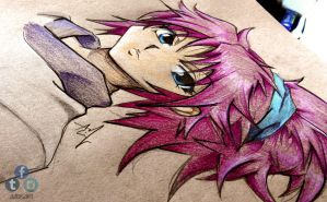 Machi - Hunter X Hunter Sketch by Iza-nagi