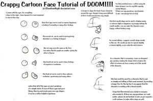 Cartoon Face Tutorial Request by OctoTrash