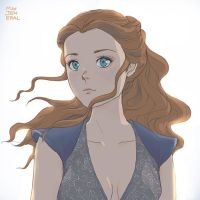 Just said by eyes: Margaery Tyrell by Janenonself