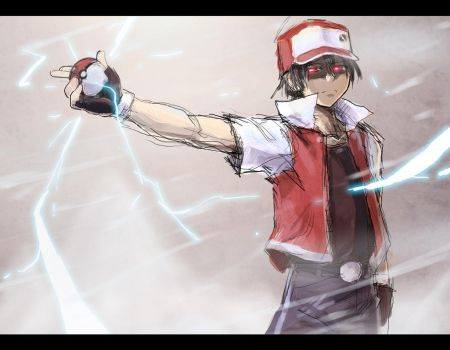 Pokemon Master RED by moxie2D
