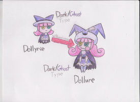 Pokemon Starlight: Dollyrie and Dollure by KawaiiWonder