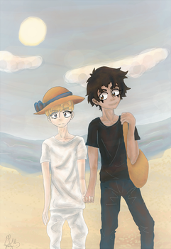 On The Beach by Yellyy