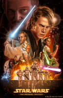 Star Wars: The Prequel Trilogy by kelvin8