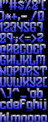 TheDraw TDF ANSI Font - Font 59 by roy-sac