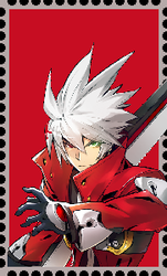 Ragna The Bloodedge Stamp by WOLFBLADE111