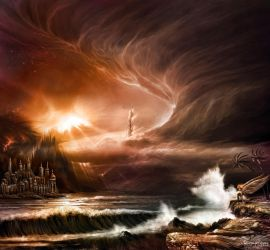 The great deluge by alexiuss