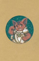 Space Cat! by mogstomp