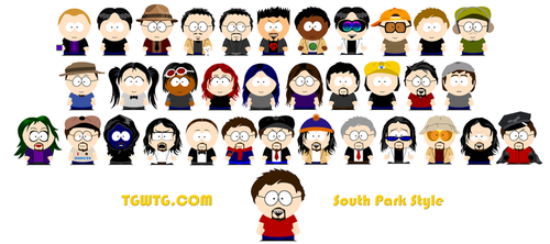 TGWTG South Park Style V.2 by mikeinthehouse