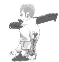 Balthier - A pirate of the sky by polarityplus