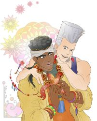 Polnareff and Abdull by Autumn-Sacura