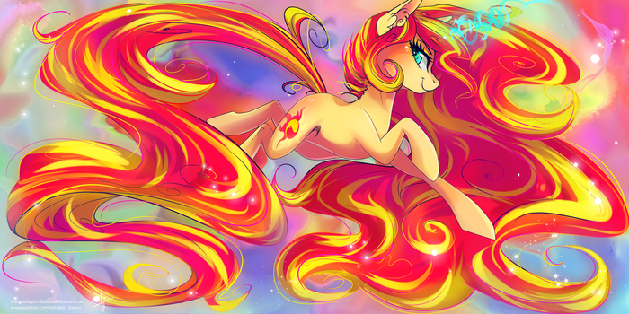 Sunset Shimmer by Wilvarin-Liadon