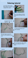 Coloring Tutorial by heartandbonebreaker