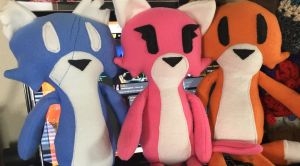 Plush characters have been added to the store!! by TiredOrangeCat