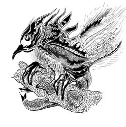 The Chaos Bird by Gordjia