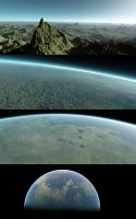 Procedural Planet Test Images by nvseal