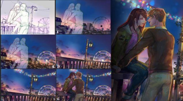 Process- Night City by christon-clivef