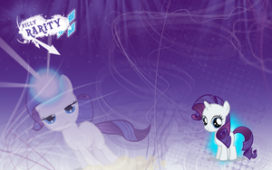 FiM: Filly Rarity Wallpaper by M24Designs
