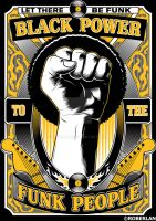 Black Power To The Funk People by roberlan