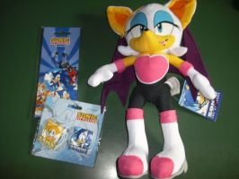 Finallyyyy Rouge plush and merch by 7marichan7