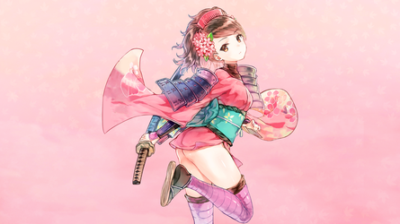 Momohime Wallpaper Full HD [1920x1080] by FlappyFalcon