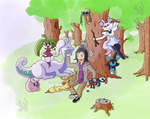 Poke-picnic by Jaywalk5
